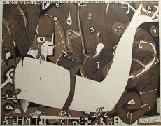 Horst Janssen: 4. Bilderbogen über die Traurigkeit, 1969