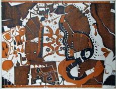 Horst Janssen: 2. Bilderbogen über die Traurigkeit, 1969