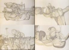 Eric Cormenzana: Personatges, 1974 (6 lithographs)