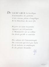 Bernard Buffet: Du Sacré-Coeur, 1964