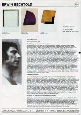 Erwin Bechtold: Margenes III, 1977