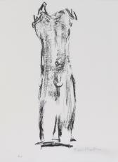 Toni Stadler: Torso, 1975