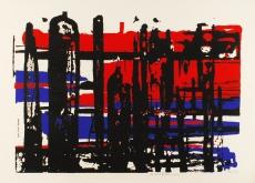 Egon Neubauer: Komposition II, 1958