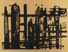 Egon Neubauer: Komposition I, 1958