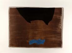 Giuseppe Santomaso: Contro il blu, 1974