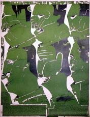 Horst Janssen: 5. Bilderbogen über die Traurigkeit, 1969