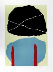 Giuseppe Santomaso: Il fiore nero , 1973