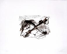 Antoni Tàpies: L. einfarbig, 1977