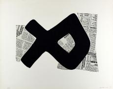 Conrad Marca-Relli: Composicion, 1975