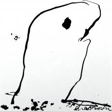 Emil Schumacher: Serigraphie, 1975