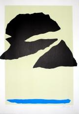 Giuseppe Santomaso: Nuvole nere, 1973