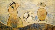 Max Ernst: Oiseaux, 1970