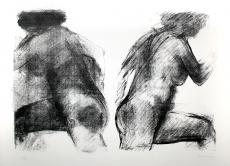 Claude Garache : Deux Nus, 1981