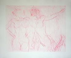 Claude Garache : Deux personnes IV, 1985