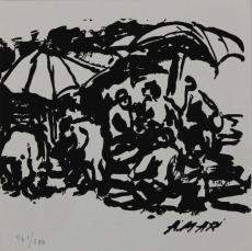 Antoni Mari Ribas: En la Playa, 1975