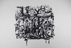 Antoni Mari Ribas: Escena de una Calle, 1972