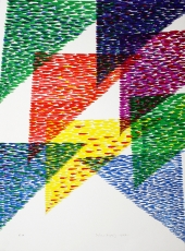 Piero Dorazio: composizione, 1987