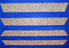 Piero Dorazio: Rideau ciel, 1998
