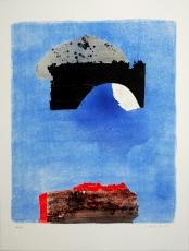 Giuseppe Santomaso: Collegamento , 1987