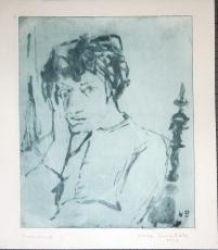 Wolff Buchholz: Christa Pyroth, 1957
