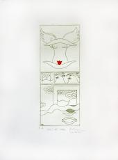 Gudrun von Leitner: über der Wolke, 1970