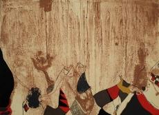 Josep Guinovart: Fang 4, 1982