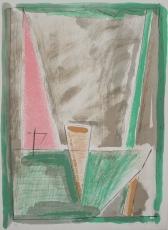 Albert Ràfols-Casamada: Interiors-4, 1982