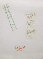 Joan Ponc: Composició, 1970
