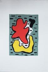 Fernand Léger: Figures rouge et jaune, 1951