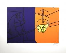 Valerio Adami: Impressions dAfrique, 1976