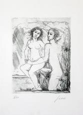 Nicola Sene: Couple, 1980