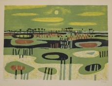 Georges Item: Camargu Landscape, 1956