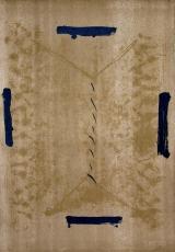 Antoni Tàpies: Quatre traces noires, 1963