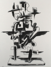 Ossip Zadkine: Le Merveilleux Radeau, 1966