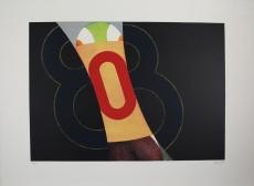 Fritz Genkinger: Bedrängte Null, 1971