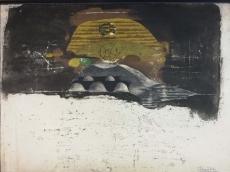Johnny Friedlaender: Paysage, 1976