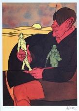 Valerio Adami: Statuette, 1982
