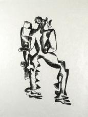 Ossip Zadkine: Figure I, 1968