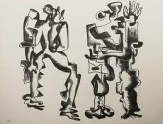 Ossip Zadkine: Deux Figures, 1969 (1)