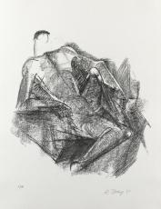 Rudolf Belling: Ruhender, 1967