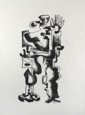 Ossip Zadkine: Figure II, 1968