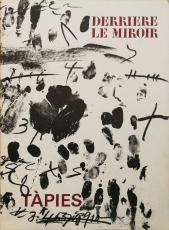 Derriere le Miroir No. 175 (Tàpies), 1968