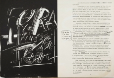 Derriere le Miroir No. 210 (Tàpies), 1974