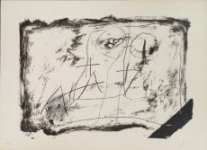Antoni Tàpies: Llambrec material XI, 1975