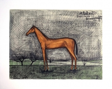 Bernard Buffet: A Robert (Horse), 1951