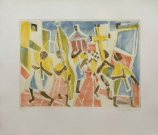 Eduard Bargheer: Corpus Domini, 1974