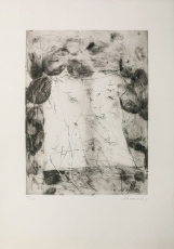 Emil Schumacher: Komposition, 1961