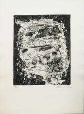 Emil Schumacher: Atischa  (1), 1959