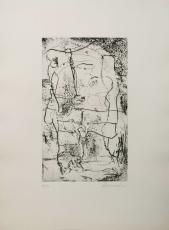 Emil Schumacher: Atischa  (4), 1959