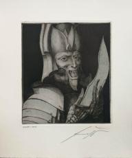 Ernst Fuchs: Mars,  1976